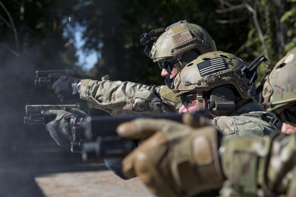 Pistol Firing Line