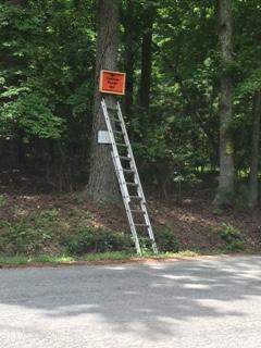 Mastaler sign up high to prevent vandalism again