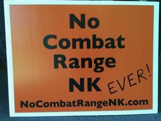 No Combat Range in NK Ever!